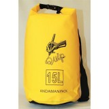 Водонепроницаемая сумка QUIP Yellow 15L
