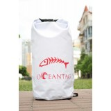 Водонепроницаемая сумка Oceantag White 15L