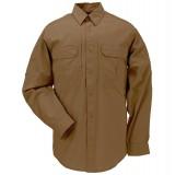 """Рубашка тактическая """"5.11 Tactical Taclite Pro Long Sleeve Shirt, brown"""