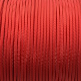 Paracord 550 red (fire) #021f
