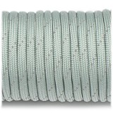 Paracord Type III 550, reflective (светоотражающий) light grey #rp12