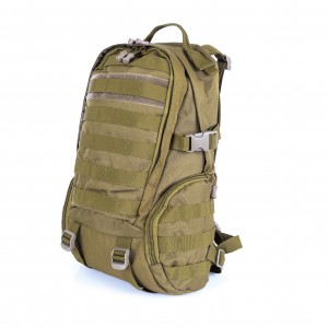 Тактический патрульный рюкзак D5-9330, wolf brown, 25л