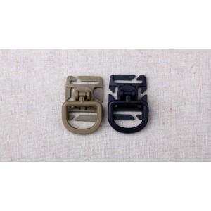 Мультифункциональное тактическое кольцо с креплением на пряжку Molle.