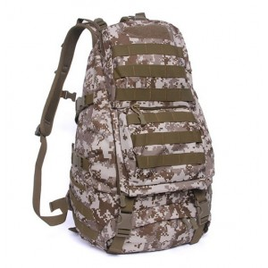 Тактический рюкзак большой D5-9331, desert digital, 40л
