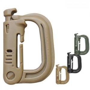 D-образная пластиковая пряжка