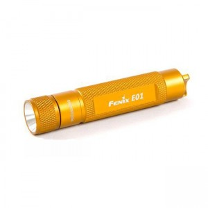 Фонарь Fenix E01 Nichia GS желтый