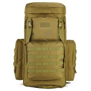 Большой тактический рюкзак S408, wolf brown, 70-85л