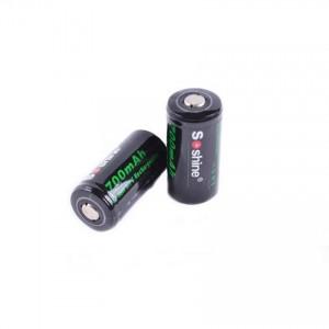 Аккумулятор литиевый Li-Ion CR123A / 16340 Soshine 3.7V (700mAh)