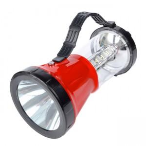 Кемпинговый фонарь с солнечной панелью (16+1 LED, 220 люмен, 2 режима)