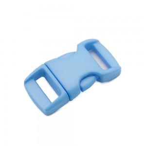 """3/8"""", голубой, фастекс пластиковый"""