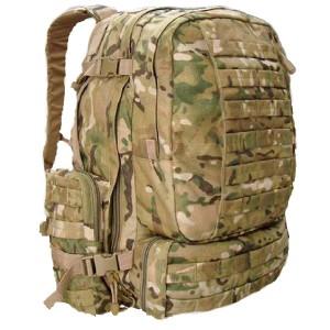 Большой тактический рюкзак 3-day Assault Pack Red Rock Diplomat 52, cp camo, 52 л