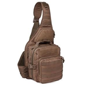 Тактический патрульный однолямочный рюкзак Red Rock Recon Sling, Dark Earth, 25л
