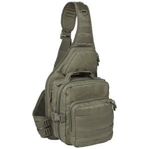 Тактический патрульный однолямочный рюкзак Red Rock Recon Sling, Olive Drab, 25л
