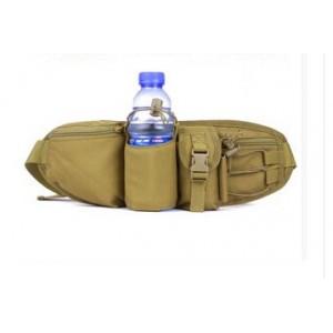 Тактическая поясная сумка D5-1010, wolf brown
