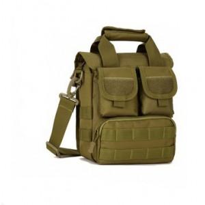 Тактическая плечевая сумка D5-2015, wolf brown