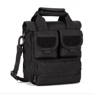 Тактическая плечевая сумка D5-2015, black