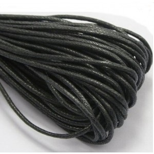 Вощеный шнур хлопок 1 мм