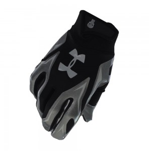 Перчатки Under Armour Alter Ego Punisher F4 Football Gloves Black