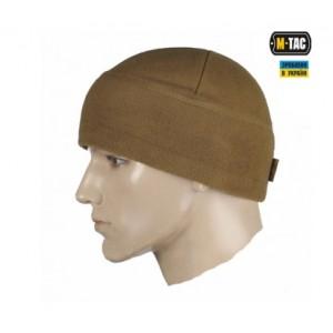 M-TAC Шапка WATCH CAP ФЛИС с утеплением SLIMTEX КОЙОТ