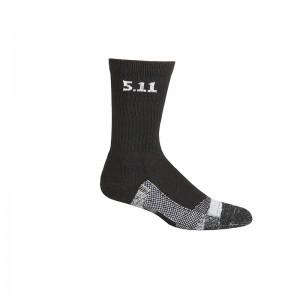 Носки тактические средней плотности 5.11 Tactical Level I 6 Sock - Regular Thickness, Black