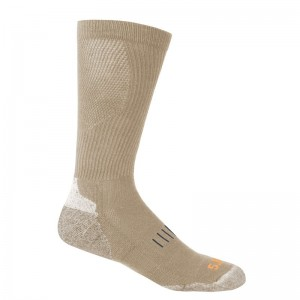 Носки тактические 5.11 Tactical Year Round OTC Sock, Coyote
