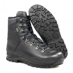 Ботинки горные Lowa Mountain GTX, black