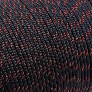 Paracord 550 thin crimson line #227