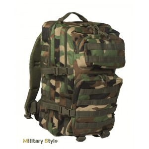 Рюкзак штурмовой США, woodland 36л