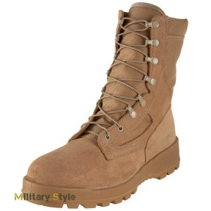 Ботинки Wellco T114 Tan Temperate Weather Combat Boot
