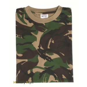 Камуфлированная футболка, DPM