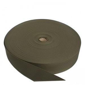 Лента ременная, 50 мм, олива полиамидная