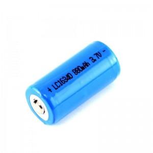 Литий ионный аккумулятор: Аккумуляторная батарея Brinyte 16340 880 mAh 3.7V Li-ion
