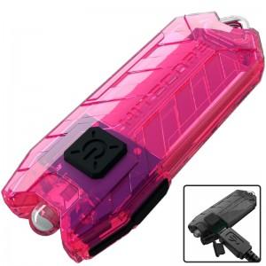 Фонарь Nitecore TUBE (1 LED, 45 люмен, 2 режима, USB), розовый
