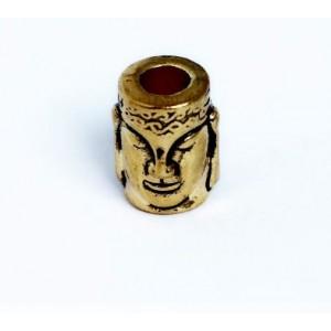 """Бусина """"Двуликий"""", золото"""
