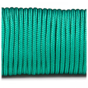 Paracord 100 emerald green #086-2