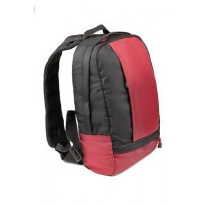 Рюкзак городской, black-red