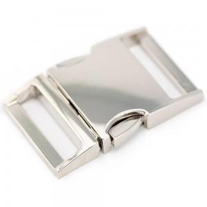 "1,2"", серебристый, фастекс металлический"