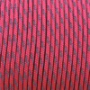 Minicord Reflective. Paracord 100 Type I (1.9 mm), sofit pink #R2315-type1