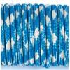 Paracord 550 blue white #074