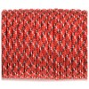 Paracord 550, red with black x #177