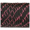 Paracord 550, black with pink X #112