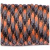 Paracord 550, orange blaze camo #158