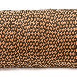 Coreless Paracord,orange snake #357-H, (полый шнур)