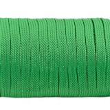Coreless paracord, Green #025-Н, (полый шнур)