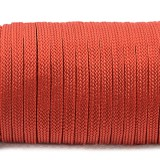 Coreless Paracord, red #021F-Н, (полый шнур)