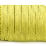 Coreless Paracord, yellow #019-Н, (полый шнур)