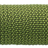 Paracord 550  neon green snake (016+017) #091