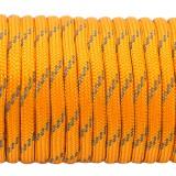 Paracord 550, reflective X3  Apricot #r3085 (светоотражающий)