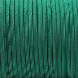 Paracord 550, BLACK NOISE emerald green #086-BN
