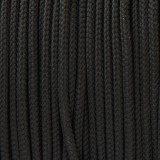 Paracord 425 Type II (3mm), black #016-Тype2